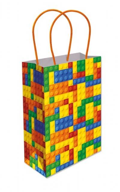 Building Brick Paper Party Bag