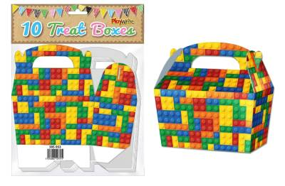 Building Bricks 10 treat Boxes