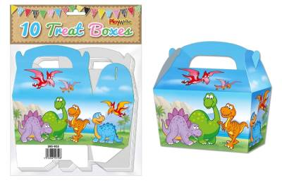 Dinosaur 10 Treat Boxes