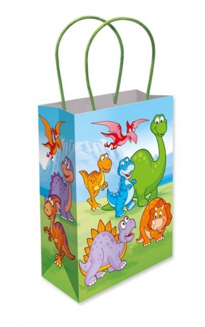 Dinosaur Paper Party Bag