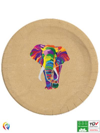 Elephant Compostable Paper Plates